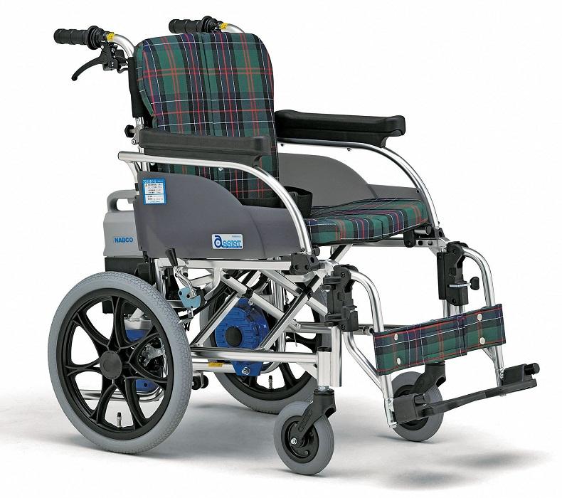 【電動車椅子】 ナブテスコ社製 ・介助型電動車いす「アシストホイール」【メーカー正規保証付き/送料無料】