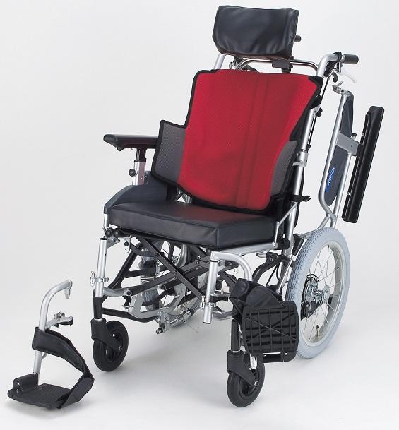 車椅子(車いす) 日進医療器製  NAH-F5【座王シリーズ】【メーカー正規保証付き/条件付き送料無料】