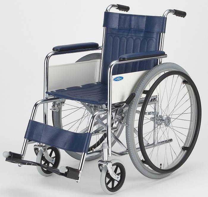 車椅子(車いす) 日進医療器製  ND-1【メーカー正規保証付き/条件付き送料無料】
