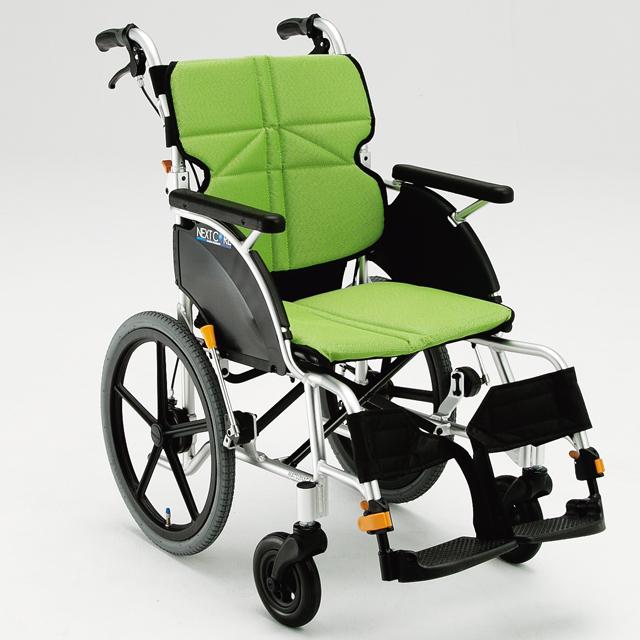 軽量 折りたたみ 車椅子(車いす) 松永製作所  NEXT-21B(ネクストコア)【メーカー正規保証付き/条件付き送料無料】
