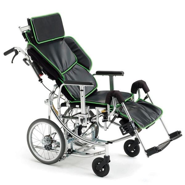 リクライニング車椅子(車いす) ミキ製 NEXTROLLER-sp2 (ネクストローラーシルバーパッケージ) 【メーカー正規保証付き/条件付き送料無料】