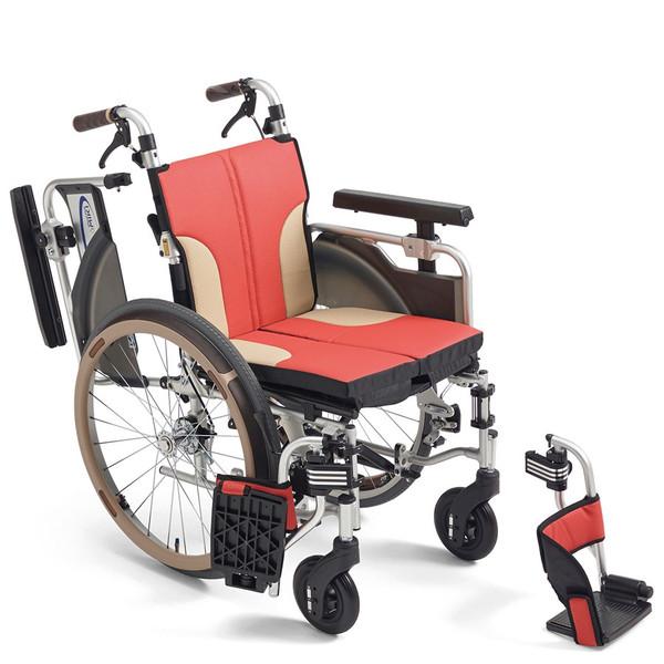 軽量 折りたたみ車椅子(車いす)ミキ製 SKT-1000(Skit/スキット/skt1000)【メーカー正規保証付き/条件付き送料無料】