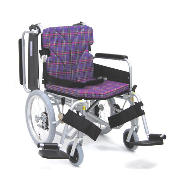 車椅子(車いす) カワムラサイクル製 KA816-40(38·42)B-M.LO.SL 【安心のメーカー正規代理店/法人様宛送料無料】