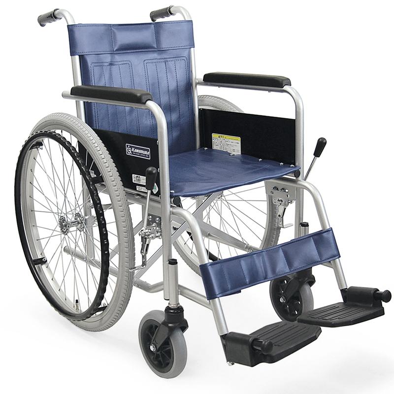 車椅子(車いす) カワムラサイクル製 KR801N【メーカー正規保証付き/条件付き送料無料】