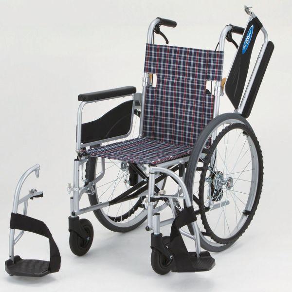 車椅子(車いす)日進医療器製 ネオ1W/NEO-1W【メーカー正規保証付き/条件付き送料無料】
