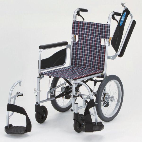 車椅子(車いす)日進医療器製 ネオ2W/NEO-2W【メーカー正規保証付き/条件付き送料無料】