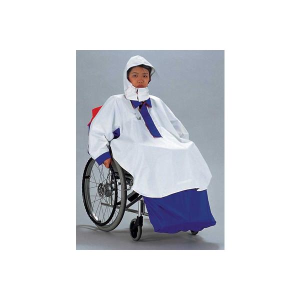 車椅子専用レインコート/ナイスサポートコンポ(サンプラス社製)
