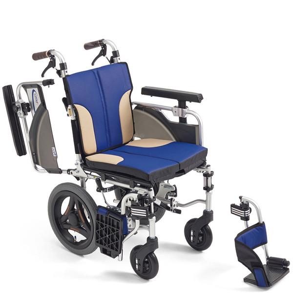 軽量 折りたたみ車椅子(車いす)ミキ製 SKT-2000(Skit/スキット/skt2000)【メーカー正規保証付き/条件付き送料無料】