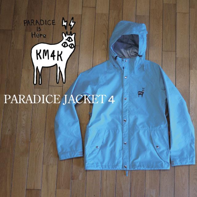 KM4K(カモシカ)/PARADICEJK 4(パラダイスジャケット フォー) 【18-19モデル 送料無料】スノボウェア 3レイアー