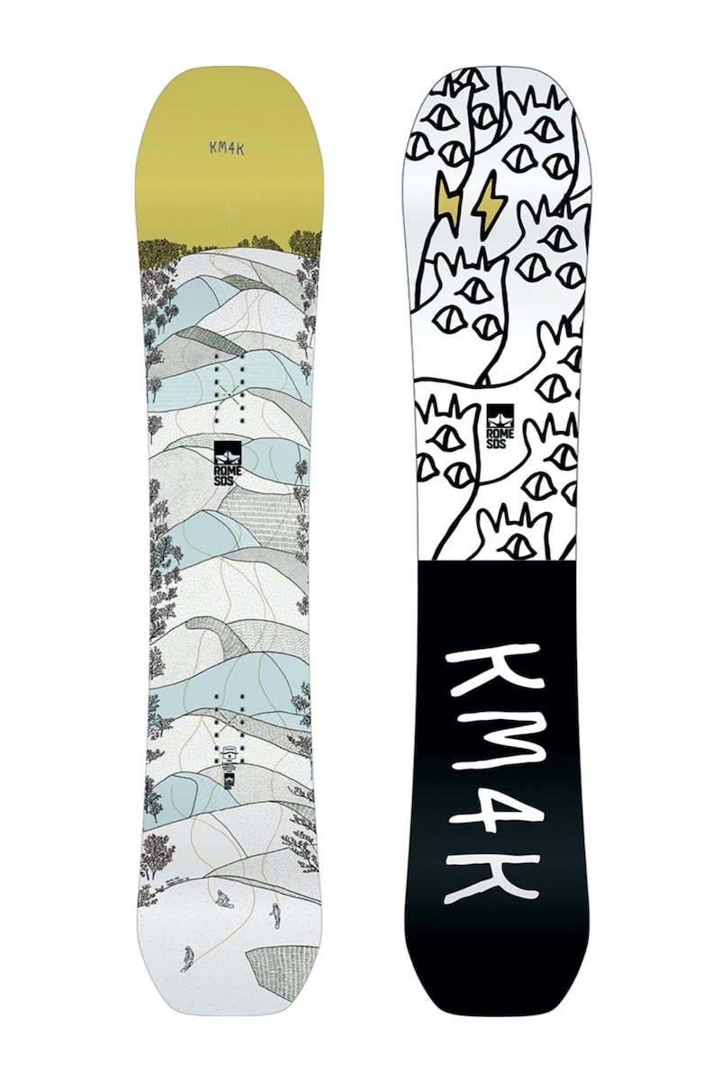 19/20 ROME/ローム /THE ROME x RIDER COLLECTION /PARADISE STICK 2 / SNOWBOARD/148/ KM4K (カモシカ)本州送料無料