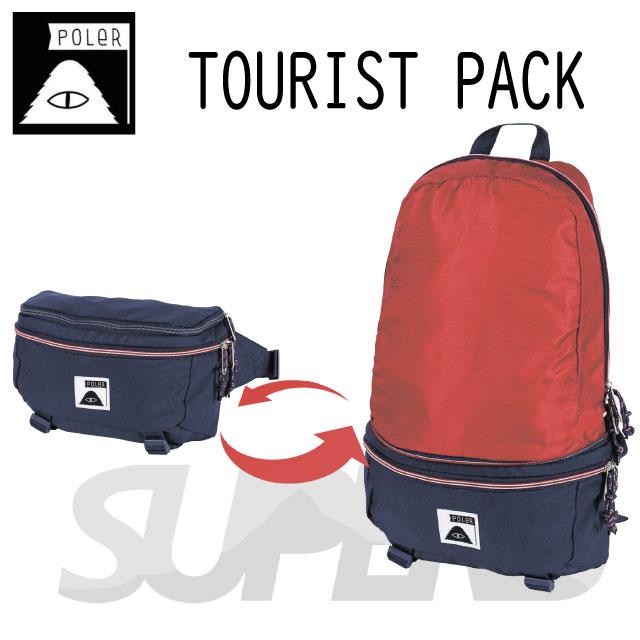 TOURIST PACK(ツーリストパック)/POLER(ポーラー)【送料無料!国内正規品!2wayバッグ!】POLERならSUPERB