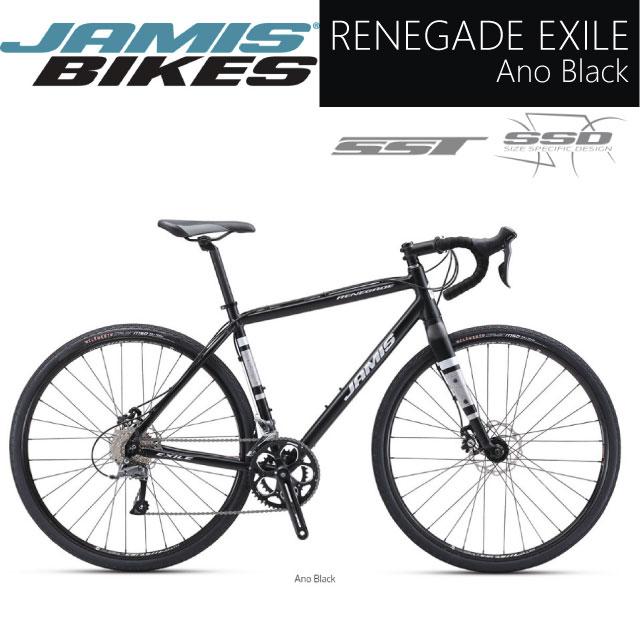 (JAMIS/ジェイミス)RENEGADE EXILE /レネゲード Ano Black アドベンチャーバイク グラベルロード、シクロクロス (サイズのご相談はお気軽に)動作確認済!