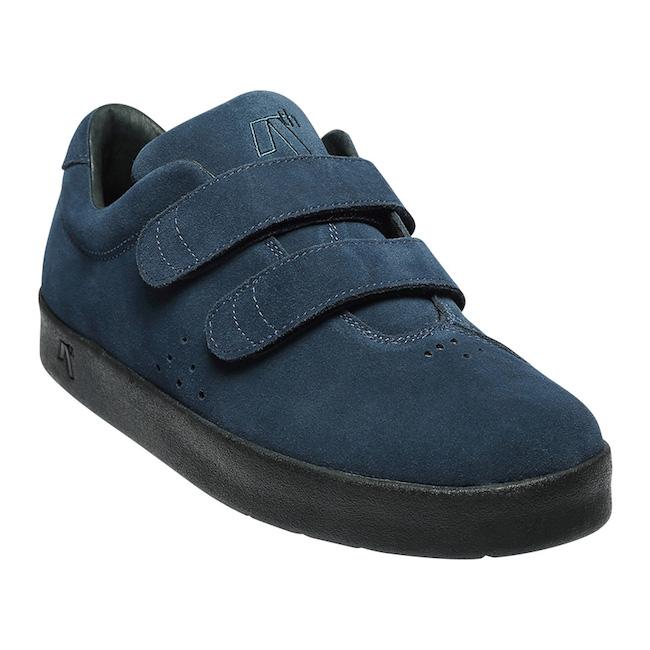 送料無料AREth (アース) メンズ 靴 スニーカー I(ワン) (velcro)ベルクロ /BlueBlack /ブルーブラック SKATEBOARD/SUPERB 2018 LATE SHOESBMX スケートシューズ KAMI ストリート SK8 SKATE スケボー UNISEXI レース 紐靴 ユニセックス