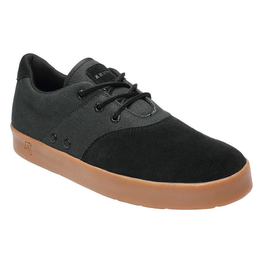 AREth(アース) スニーカー PLUG /Black/Gum/ブラックガム SKATEBOARD/SUPERB 2019 early SHOES メンズ靴 レディース靴