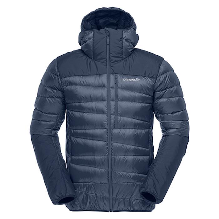 NORRONA falketind down750 hood Jacket (Mens) メンズ フォルケティン ダウン750 フード ジャケット Indigo Night 国内正規品