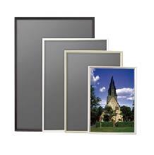 安い おしゃれ スマートなポスターパネル ポスターパネル タイムセール 作品を引き立てるスマートな形状 カラーは4色 誕生日プレゼント メーカー直送品 A0サイズ