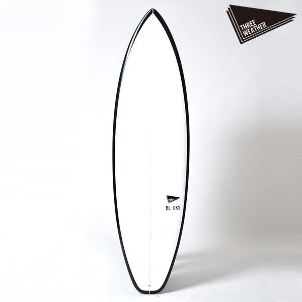 サーフボード ショート THREE WEATHER スリーウェザー BLACKS ブラックス 6'6 HH D22
