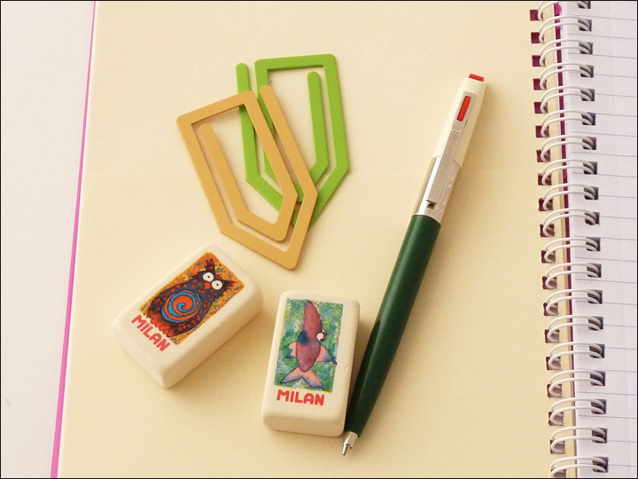 Merveilleux IKO | Eastern | Europe Stationery | Gadgets | Fashionable | Retro | Cute |  Writing | Memo | Office Supplies | Office