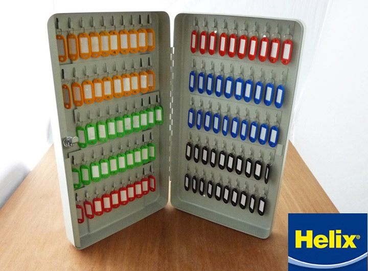【HELIX 100 Key Safe】【宅配 】へリックス UK 鍵 カギ キーケース キーボックス 事務所 オフィス 用品 ヨーロッパ 雑貨 イギリス 管理 安全 100本 キーホルダー