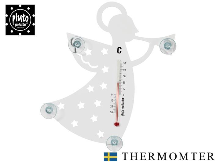 日本正規代理店 室内 室外どちらでも使える 温度計 スピード対応 全国送料無料 ポイント10倍中 期間限定 pluto BR 売店 インテリア 北欧雑貨 かわいい おしゃれ 天使‐ANGEL‐ プルート
