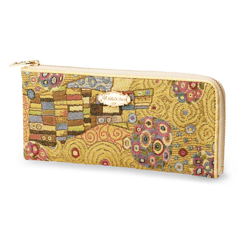 ゴールデンクリムト L型長財布