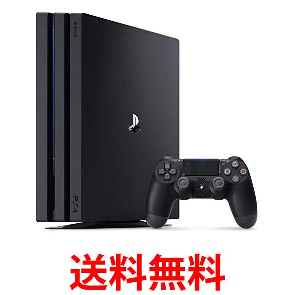 PlayStation 4 Pro ジェット・ブラック 2TB 送料無料 【SG08366】