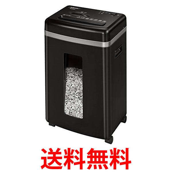 フェローズ シュレッダー 家庭用 450M 4074401 ブラック 電動 9枚細断 マイクロカット 送料無料 【SG10549】