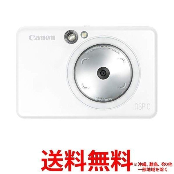 Canon iNSPiC インスタントカメラプリンター ZV-123-PW 【SS4549292150902】