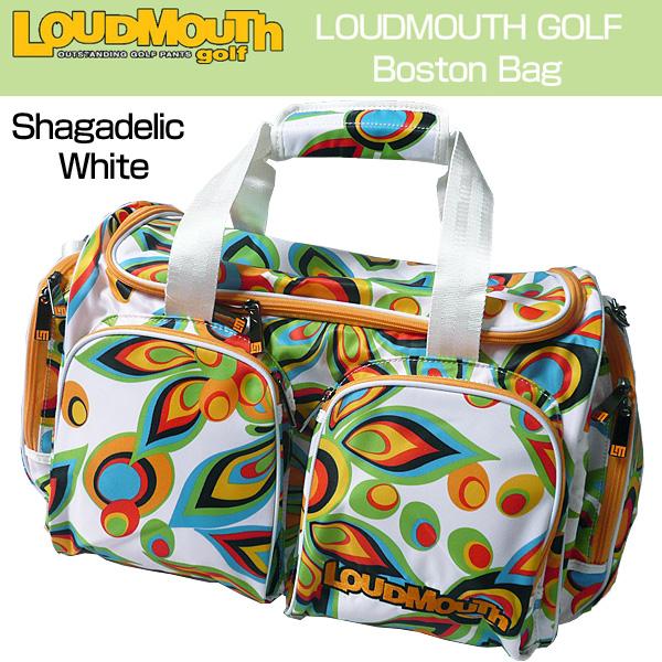 [日本規格]ラウドマウス ボストンバッグ (Shagadelic White シャガデリック ホワイト) LM-BB0002726119(003)[新品] 16SS 16FW 17SS 17FW 767985 /777969 Loudmouth ダッフルバッグ メンズ レディース