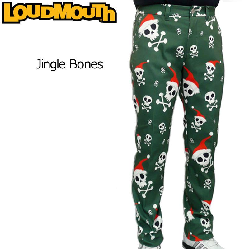 ラウドマウス メンズ ロングパンツ (Jingle Bones ジングルボーンズ) 726513(041)【日本規格】【40%off】【新品】 16FW 男性用 ゴルフウェア 長ズボン ボトムス派手 な 柄