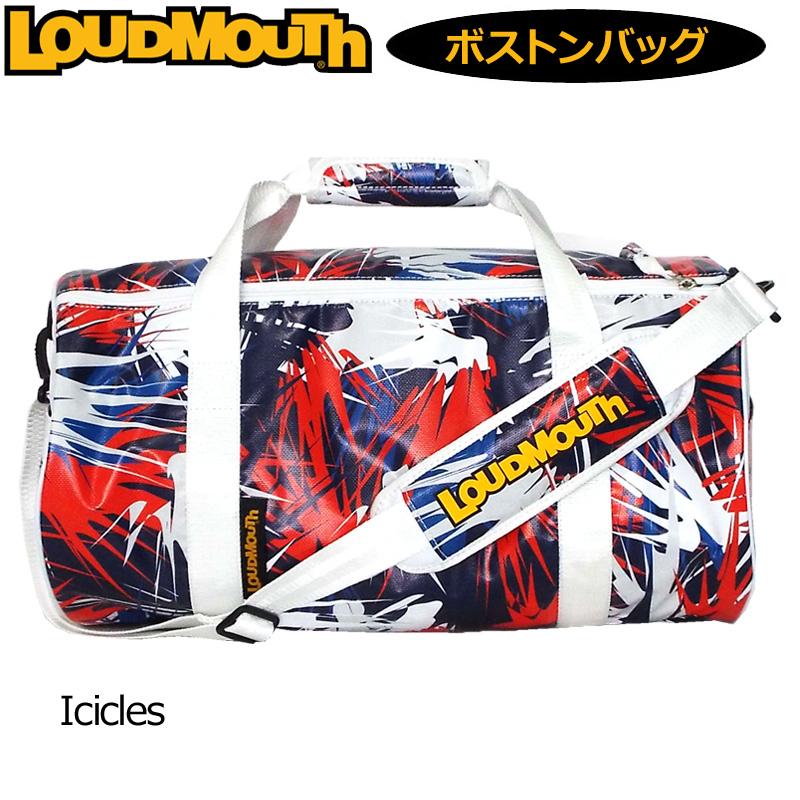 ラウドマウス ドラムバッグ Icicles アイシクル LM-BB0005/769994(178) 【日本規格】【新品】 19SS Loudmouth ゴルフ用バッグ ボストンバッグ