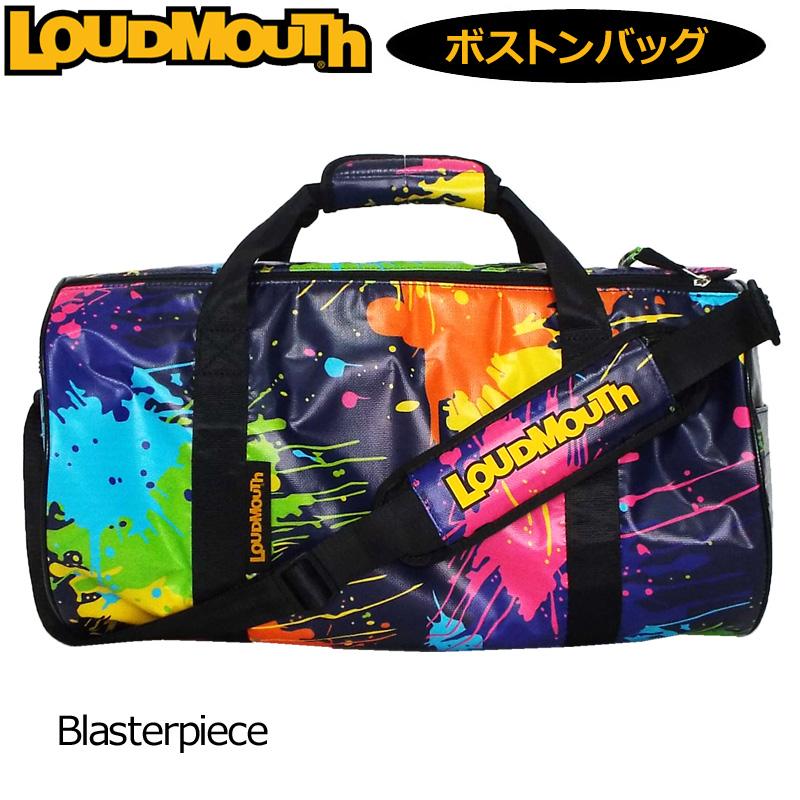 ラウドマウス ドラムバッグ Blasterpiece ブラスターピース LM-BB0005/769994(188) 【日本規格】【新品】 19SS Loudmouth ゴルフ用バッグ ボストンバッグ