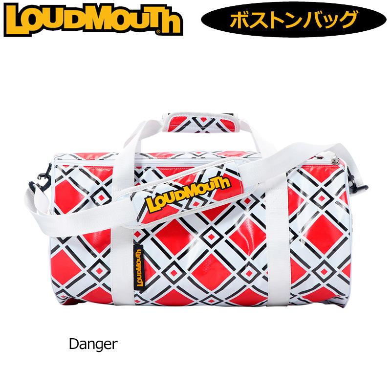 ラウドマウス ドラムバッグ Danger デンジャー LM-BB0005/769994(198) 【日本規格】【新品】 19SS Loudmouth ゴルフ用バッグ ボストンバッグ