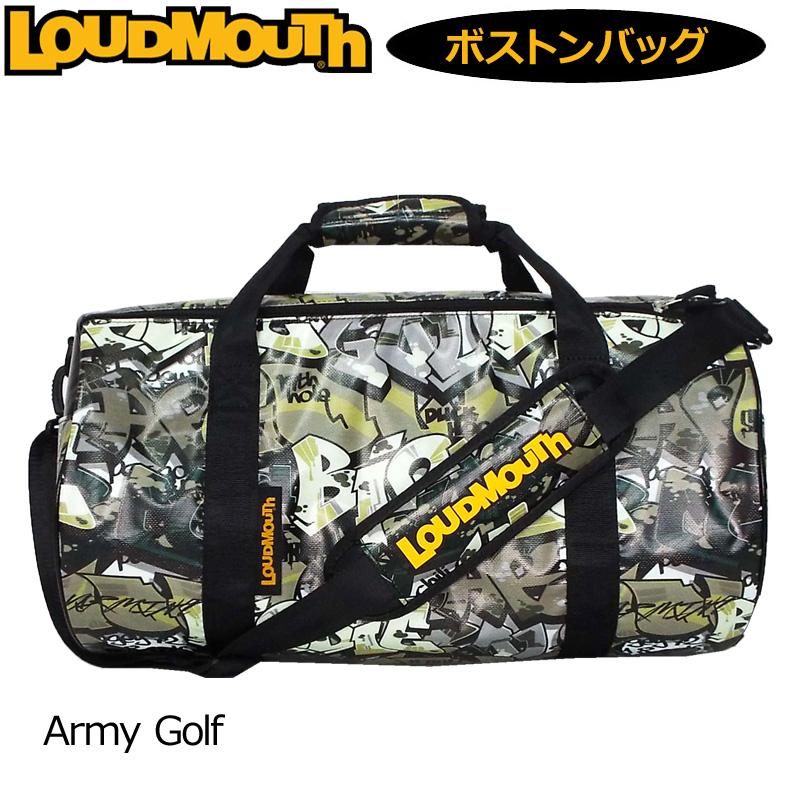 ラウドマウス ドラムバッグ Army Golf アーミーゴルフ LM-BB0005/769994(200) 【日本規格】【新品】 19SS Loudmouth ゴルフ用バッグ ボストンバッグ