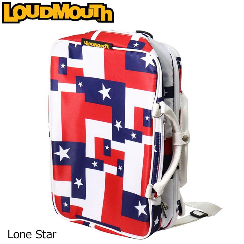 [日本規格]ラウドマウス 2018 3WAY バックパック (ローンスター/Lone Star) LM-BP0001/768990(115)[新品] 18SS Loudmouth ゴルフ用品 メンズ レディース ボストンバッグ