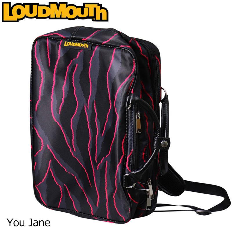 ラウドマウス 3WAY バックパック (You Jane/ユージェーン) LM-BP0001/768990(114)【日本規格】【新品】 18SS Loudmouth ゴルフ用品 メンズ レディース ボストンバッグ 派手 派手な 柄 目立つ 個性的 %off