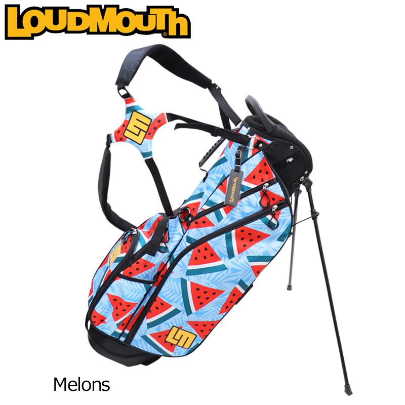 ラウドマウス 2020 8.5型 軽量 スタンドバッグ Melons メロンズ LM-CB0010 760986(134) 【日本規格】【新品】20SS ゴルフ Loudmouth キャディバッグ 派手 MAY2 MAY3