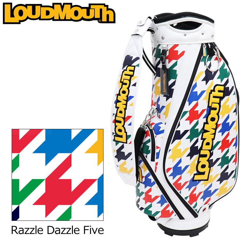 ラウドマウス 9.5型 2020 キャディバッグ Razzle Dazzle Five ラズルダズル ファイブ LM-CB0014/760999(259) 【日本規格】【新品】20SS Loudmouth Bag ゴルフ用バッグ 派手 派手な 柄 目立つ 個性的 MAY2 MAY3
