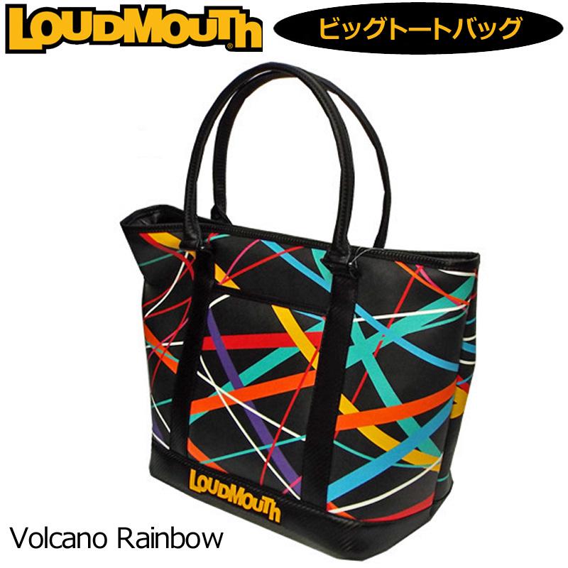 [日本規格]ラウドマウス ビッグ トートバッグ (Volcano Rainbow ボルケーノレインボー) LM-TB0001/767034(082)[新品]17SS Loudmouth ゴルフ用バッグ ボストンバッグ メンズ レディース