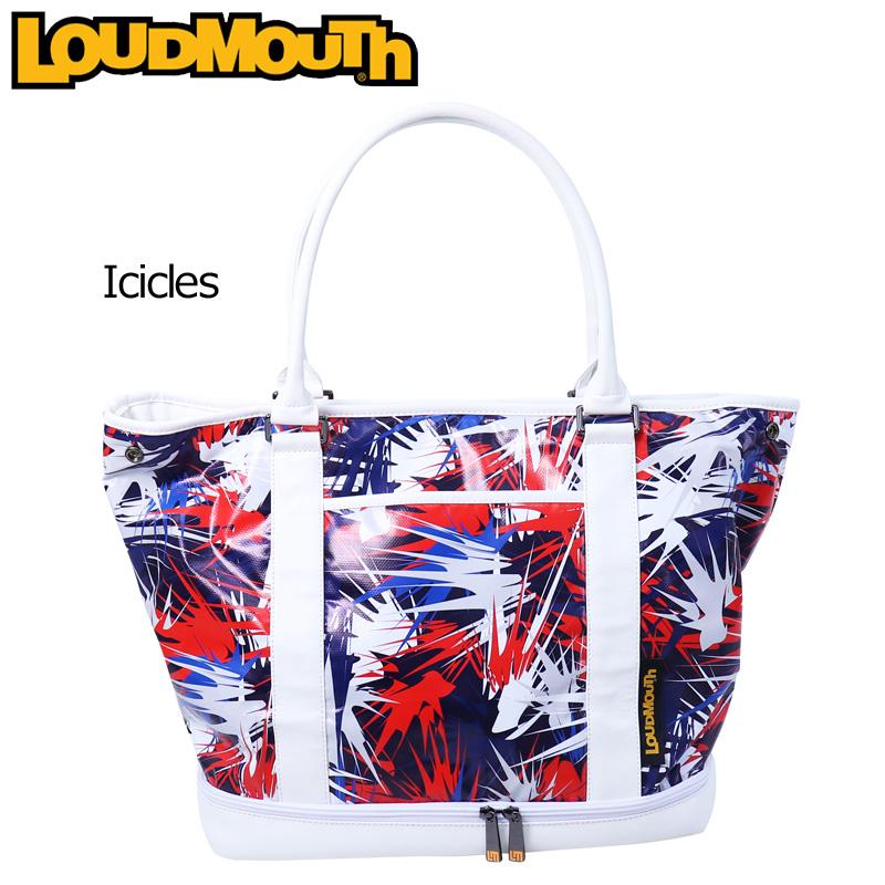ラウドマウス ビッグ トートバッグ Icicles アイシクル LM-TB0004/769993(178) 【Newest】【日本規格】【新品】 19SS Loudmouth ゴルフ用バッグ ボストンバッグ