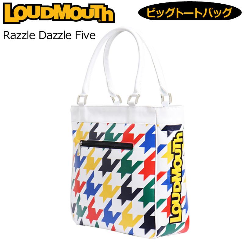 ラウドマウス 2020 ビッグ トートバッグ Razzle Dazzle Five ラズルダズル ファイブ LM-TB0005/760998(259) 【日本規格】【新品】20SS Loudmouth ゴルフ用バッグ 派手 MAY2 MAY3