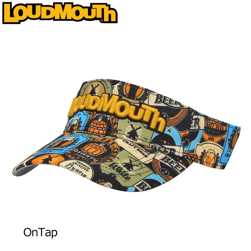 即納 やんちゃで遊び心がありながら 上品で派手 ラウドマウス専門店 日本一の品揃え ラウドマウス バイザー OnTap オンタップ セール特別価格 779926 217 Newest 日本規格 レディース 柄 派手 19FW 新品 個性的 派手な 帽子 SEP3 Loudmouth SEP2 感謝価格 メンズ 目立つ