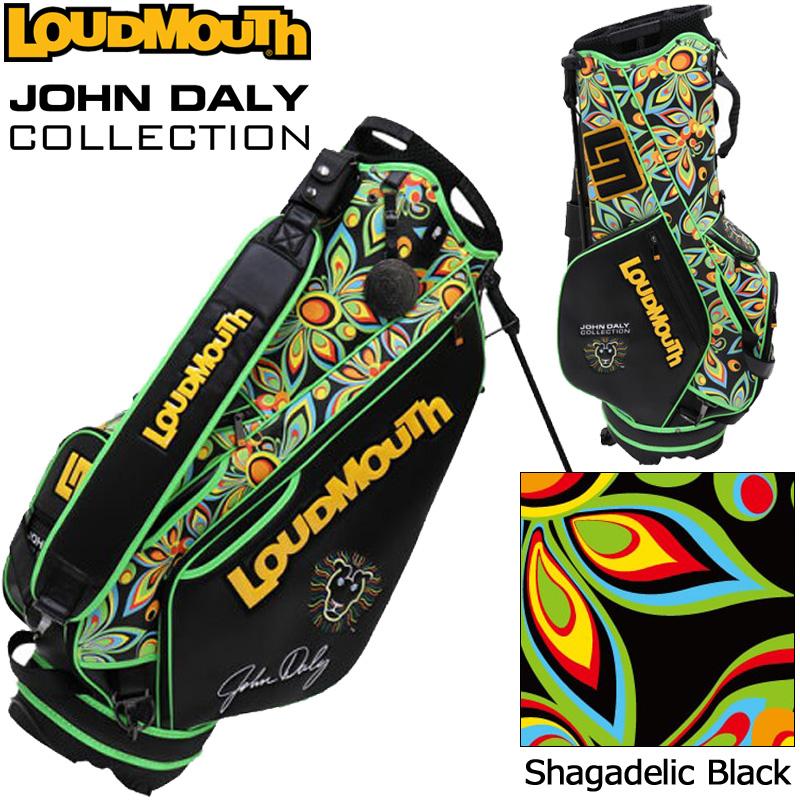 【生産数量限定】ラウドマウス 3点式 9型 スタンドバッグ ジョン・デーリーコレクション Shagadelic Black JD-SB0001 779998 【日本規格】【新品】19FW Loudmouth 派手な OCT1 OCT2