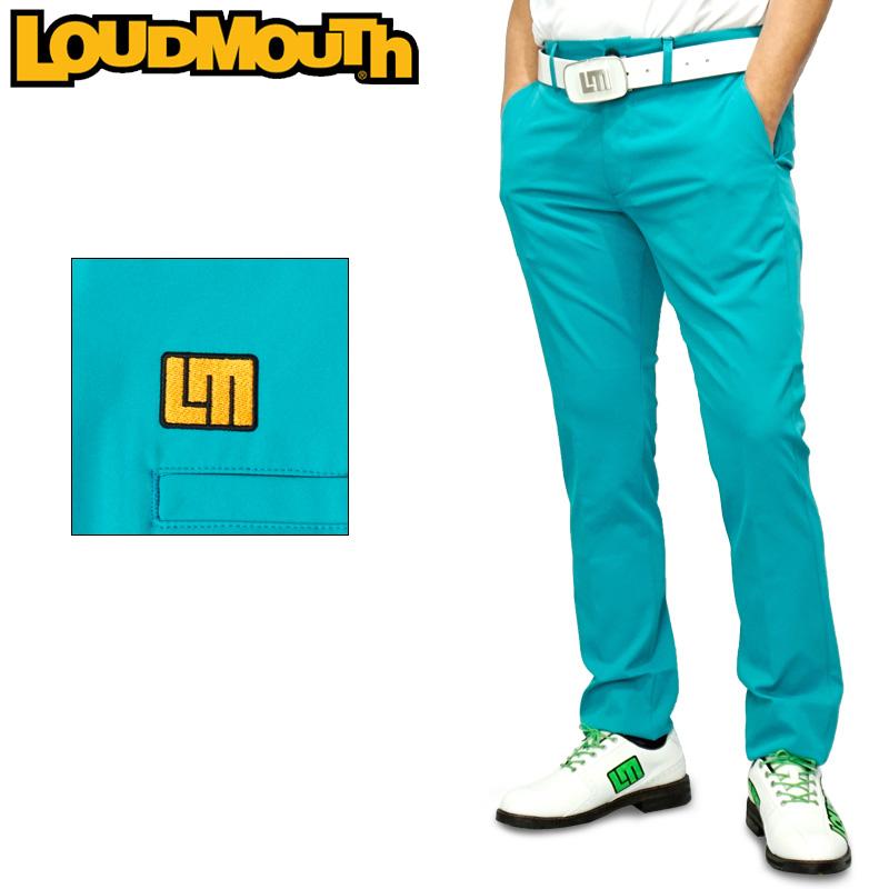 ラウドマウス 2020 メンズ ロングパンツ ストレッチ 撥水加工 ターコイズ 760300(966) 【日本規格】【新品】20SS Loudmouth ゴルフウェア ゴルフパンツ ボトムス APR3 MAY1