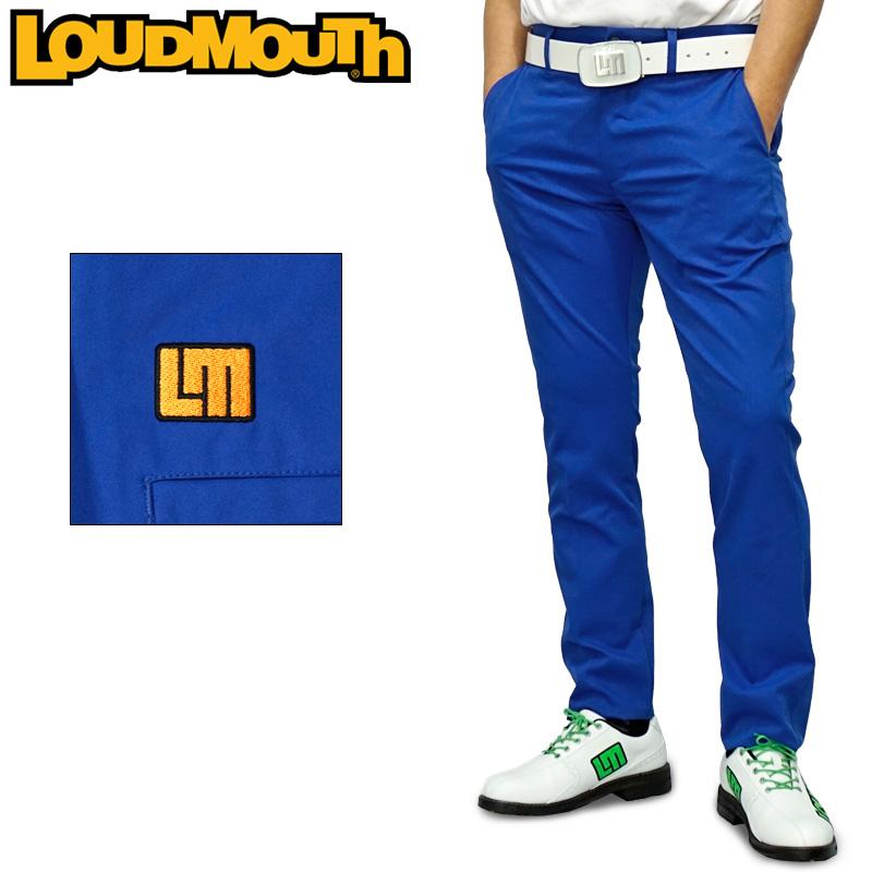 ラウドマウス 2020 メンズ ロングパンツ ストレッチ 撥水加工 ブルー 760300(995) 【日本規格】【新品】20SS Loudmouth ゴルフウェア ゴルフパンツ ボトムス APR3 MAY1