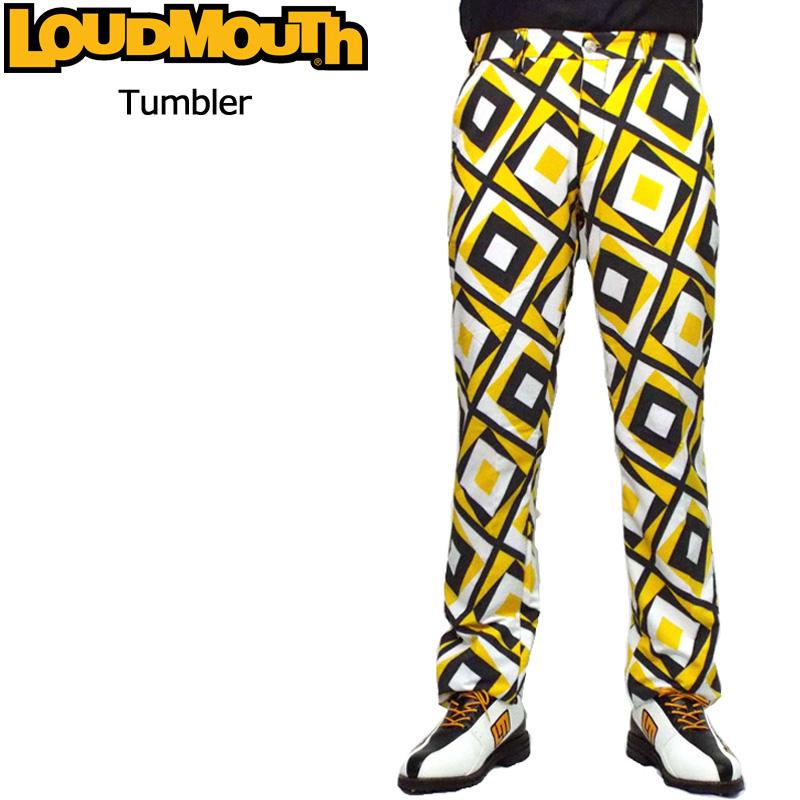ラウドマウス メンズ ロングパンツ (タンブラー Tumbler) 768305(124) 春夏【日本規格】【新品】18SS Loudmouth ゴルフウェア 男性用 ボトムス派手 派手な 柄 目立つ 個性的