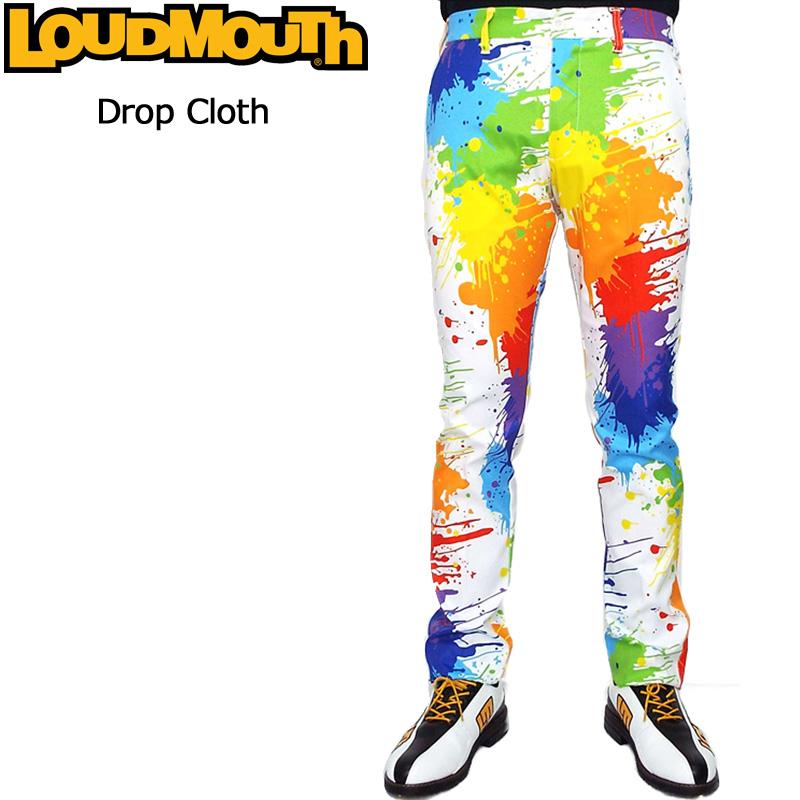 ラウドマウス 2019 メンズ ロングパンツ (Drop Cloth ドロップクロス) 769304(001) 春夏【Rivival】【日本規格】【新品】19SS Loudmouth ゴルフウェア 男性用 ボトムス 派手 派手な 柄 目立つ 個性的 MAR1 MAR2
