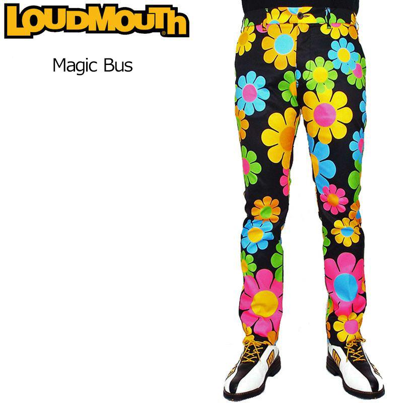 ラウドマウス メンズ ロングパンツ (Magic Bus マジックバス) 769308(005) 春夏【日本規格】【新品】19SS Loudmouth ゴルフウェア 男性用 ボトムス 派手 派手な 柄 目立つ 個性的 %off