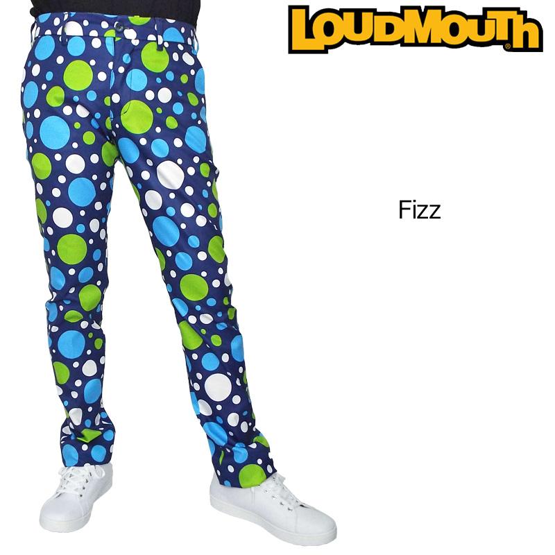 ラウドマウス メンズ ロングパンツ Fizz フィズ 769314(180) 【日本規格】【新品】19SS Loudmouth ゴルフウェア ボトムス 派手 派手な 柄 目立つ 個性的 JUN2 %off