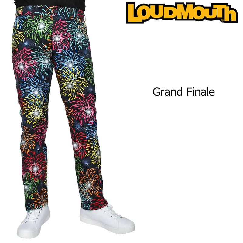 ラウドマウス メンズ ロングパンツ Grand Finale グランドフィナーレ 769316(194) 【新品】19SS Loudmouth ゴルフウェア ボトムス 派手 派手な 柄 目立つ 個性的 JUN2